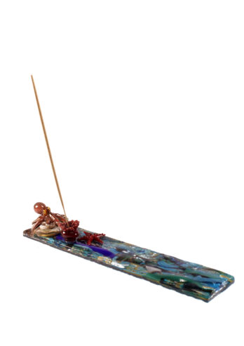 Octopus incense holder