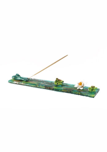 Crocodile incense holder